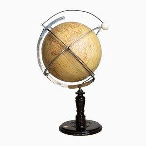 Italienischer Art Deco Globus von Paravia, 1920er