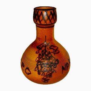 Vintage Italian Ceramic Vase from Bucci, 1972