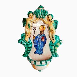 Decorazione Mid-Century in ceramica di A.D.A. Vietri, Italia