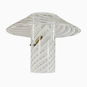 Lampada da tavolo moderna in vetro di Murano di Artistica Gambaro & Poggi, Italia, anni '80