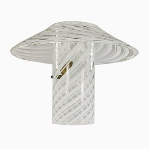Moderne italienische Tischlampe aus Muranoglas von Artistica Gambaro & Poggi, 1980er