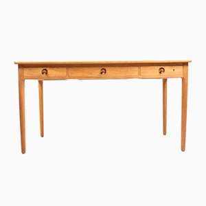 Danish Oak Desk by Hans J. Wegner for Andreas Tuck, 1950s