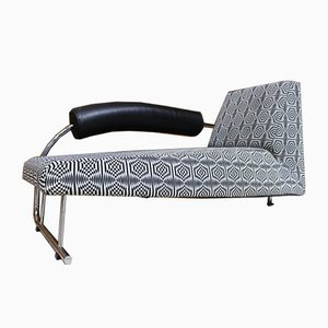 Kareel Doorman Cotton and Metal Daybed by Rob Eckhardt for Dutch Originals, 1970s