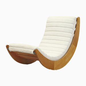 German Lounge Rocking Chair by Verner Panton for Rosenthal, 1970s