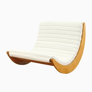 German 2-Seater Rocking Chair by Verner Panton for Rosenthal, 1970s