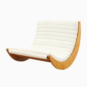 Rocking Chair 2 Places par Verner Panton pour Rosenthal, Allemagne, 1970s