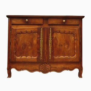 Antique French Chestnut Sideboard