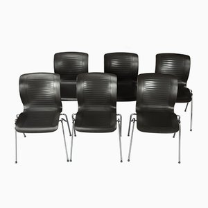 Postmodern Dining Chairs by Alfred Homann for Fritz Hansen, 1992, Set of 6