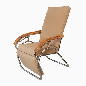 Industrieller deutscher Vintage Sessel