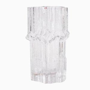 Large Glass Vase by Tapio Wirkkala for Iittala, 1970s