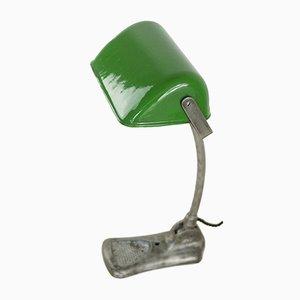 Vintage Tischlampe aus Aluminium & Gusseisen, 1930er
