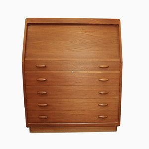 Mid-Century Danish Teak Model SM 20 Secretaire from Dyrlund, 1970s