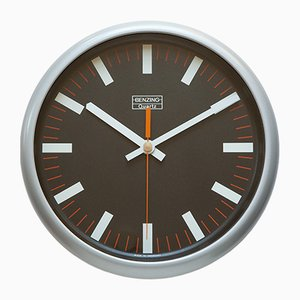 Industrial German Wall Clock from Kienzle, 1970s