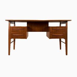 Bureau en Teck par Gunnar Nielsen Tibergaard, Danemark, 1960s
