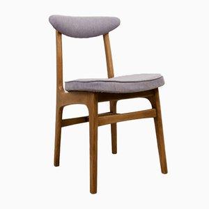 Esszimmerstühle aus Buche & Stoff 200-190 von Rajmund Teofil Hałas, 1960er, 4er Set