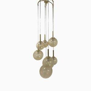 Lampe à Suspension Cascade de Doria Leuchten, 1960s
