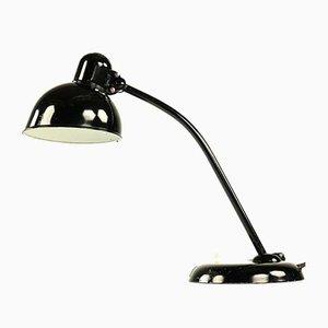 Industrielle deutsche Modell 6551 Tischlampe aus Metall von Christian Dell für Kaiser Idell, 1950er