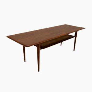 Table Basse Scandinave par Peter Hvidt & Orla Mølgaard-Nielsen, 1960s