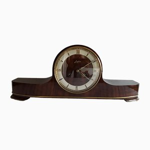 Vintage Wooden Mantel Clock from Junghans