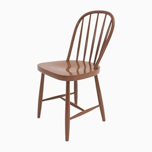 Art Deco Windsor Beech Dining Chairs from Thonet Mundus, 1930s, Set of 4
