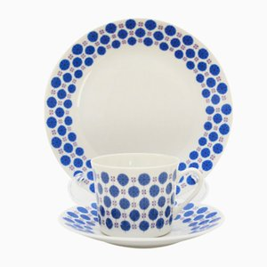 Set de Vaisselle en Porcelaine Regent par Tias Eckhoff pour Porsgrund Porselænsfabrik, 1961