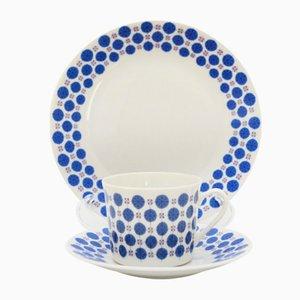 Vajilla Regent de porcelana de Tias Eckhoff para Porsgrund Porselænsfabrik, 1961