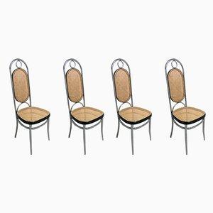 Nr. 17 Stühle von Michael Thonet, 1970er, 4er Set