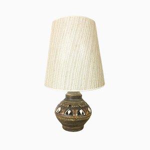 Lámpara de mesa francesa de cerámica de Georges Pelletier para Accolay, años 70