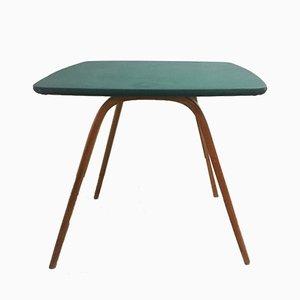 Tavolo da gioco Mid-Century in legno di Steiner, anni '60