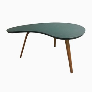 Mid-Century Bow Wood Coffee Table from Steiner, 1960s