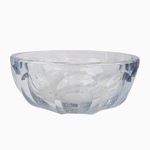 Vajilla Harcourt vintage de cristal de Baccarat, años 70