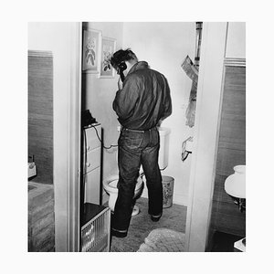 Stampa James Dean Multitasking di Frank Worth
