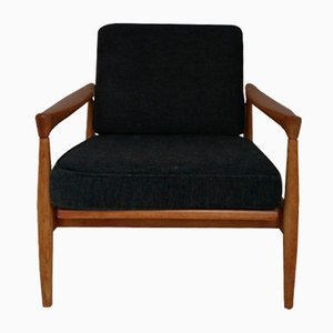 Mid-Century Scandinavian Teak Lounge Chair by Ib Kofod Larsen