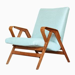 Mid-Century Bentwood Armchair from Tatra, 1960s