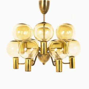 Lámpara colgante T372 / 12 Patricia de Hans Agne Jakobsson, años 60