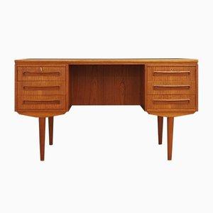Vintage Teak Desk by J. Svenstrup