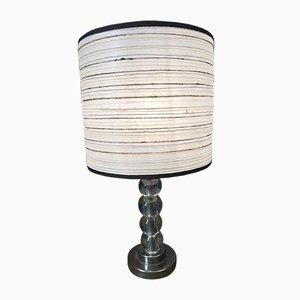 Tischlampe aus Kristallglas, 1960er