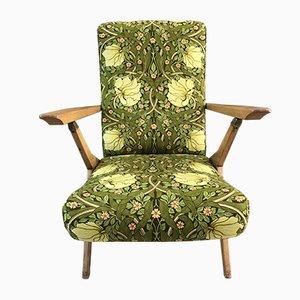Poltrona vintage reclinabile