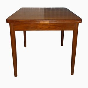 Mid-Century Teak and Wood Dining Table, 1960s