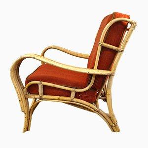 Vintage Sessel aus Schilfrohr, 2er Set