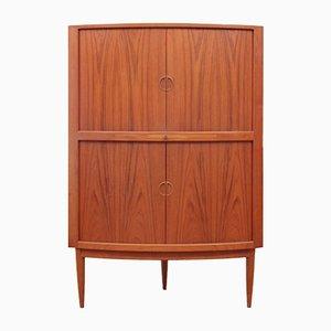 Scandinavian Modern Danish Teak Corner Cabinet from Dyrlund, 1960s