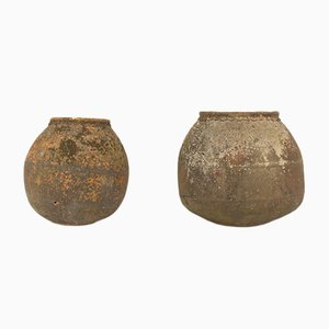 Vasi in terracotta, XIX secolo, set di 2