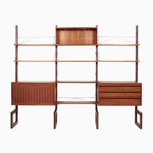 Modular Wall Unit by Poul Cadovius, 1960s