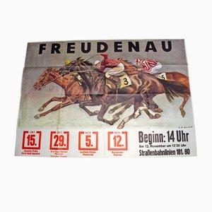 Affiche Papier par Carl Franz Bauer pour Karl Piller, 1950s