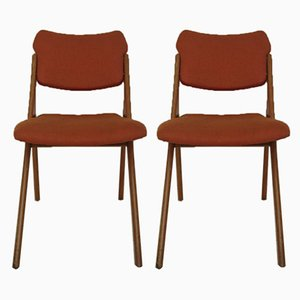 Mid-Century Dining Chairs by Gerard Guermonprez for René Godfrid, 1960s, Set of 2