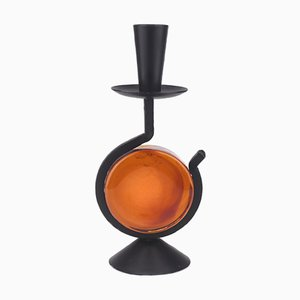 Candlestick by Gunnar Ander for Ystad Metall, 1970s
