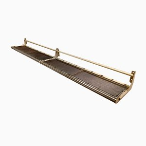 Mid-Century Industrial Steel Luggage Rack, 1950s