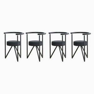 Miss Dorn Dining Chairs by Philippe Starck, 1982, Set of 4
