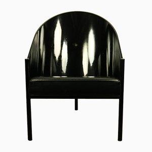 Pratfall Stuhl aus Leder von Philippe Starck für Driade, 1980er