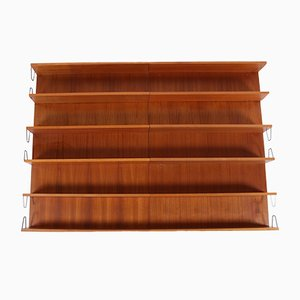 Twen Modular Wall Shelf by Günter Renkel for Rego, 1950s